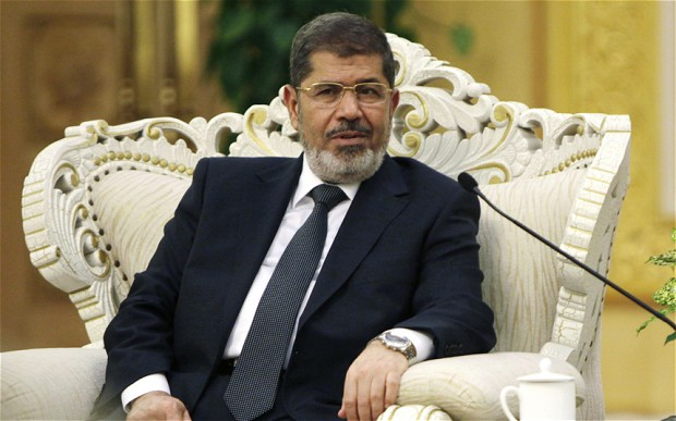 Mohammed Morsi warns US it needs to change Middle East policy