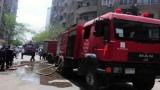 5 سيارات إطفاء لإخماد حريق مطعم شهير بالمهندسين