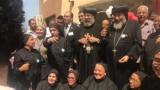بالصور.. الكنيسة القبطية تفتتح مدرسة لغات جديدة ببور سعيد