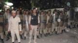 هذا ما فعلوا الأمن مع تجمع لمسلمين ضد أقباط في المنيا