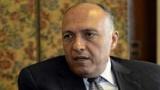 وزير الخارجية المصري يضرب مندوب قطر في الاتحاد الاوربي ضربة دبلومسية