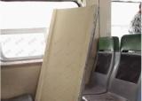 بالصور.. سقوط جزء من سقف قطار الفيوم على الركاب