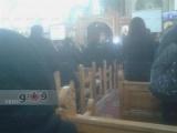 بالصور.. قداس جنازة سناء يوسف بكنيسة مار مينا