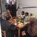 بالصور...هذا ماقالته  أسرة عزومة السيسى على الإفطار