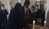 بالصور.. صلاة «الثالث» على شهداء المنيا بدير الأنبا صموئيل
