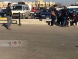 بالصور.. انهيار أقارب الناشطة سناء يوسف عقب وصول جثمانها مطار القاهرة