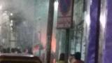 عاجل حريق فى محل القبطي عزيز يونان في المنوفية وتدمير المحل بالكامل